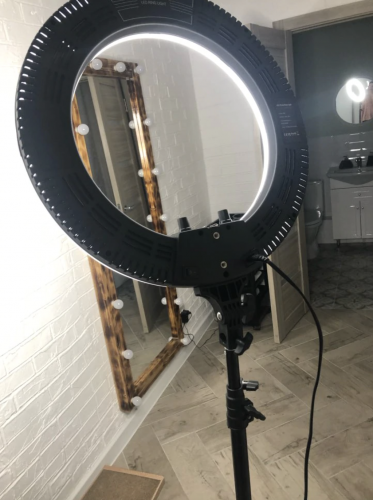 Ring light Expert photo review