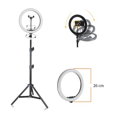Ring light 26 cm medium