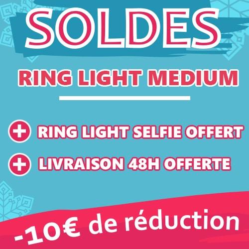 soldes ring light