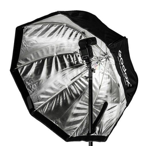 Softbox photo - Godox -120cm intérieur avec flash
