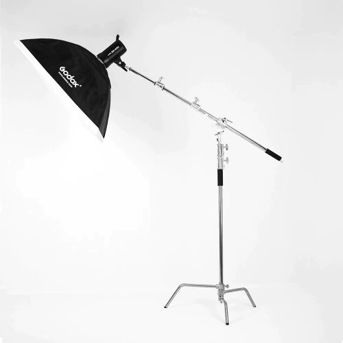 trepied flash studio MF-01 monté