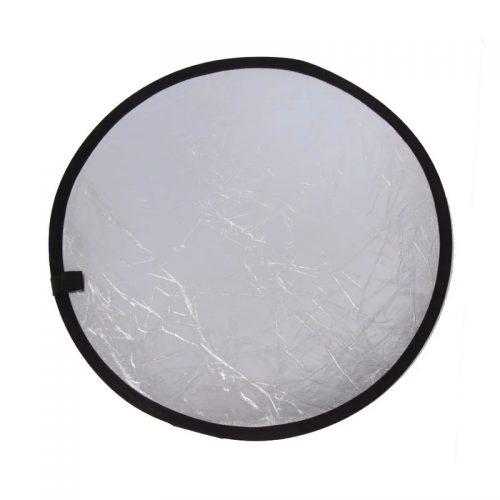 Réflecteur lumière - 60cm or argent 2 en 1 plate