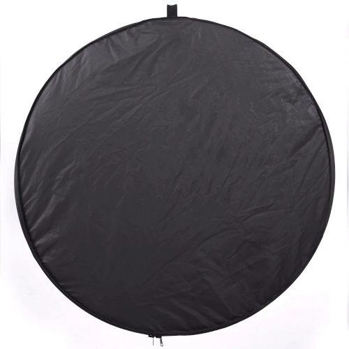 Réflecteur photo - 80cm - 5 en 1 noir