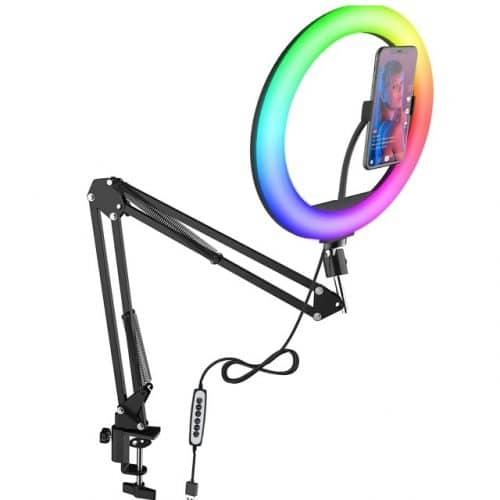 Anneau lumineux RGB