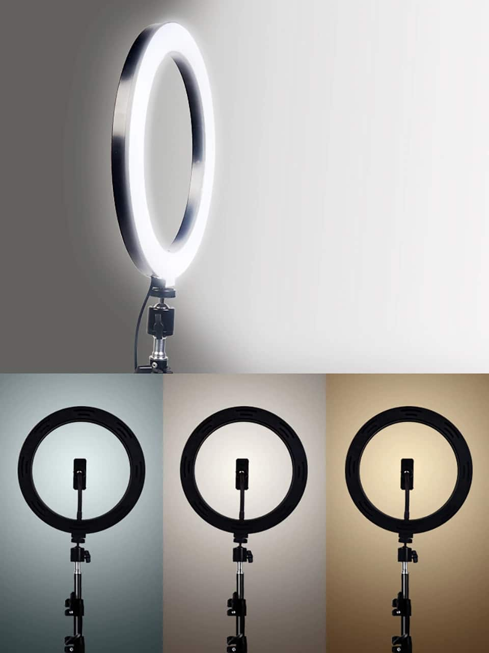 Ring light Led avec trépied 200cm à balance 1
